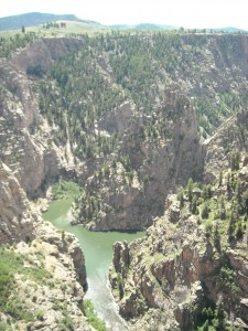 Black Canyon's Green Waters, Gunnison, Colorado