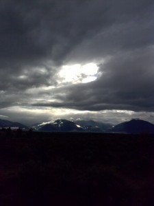 Taos Mountain - Land & Sky