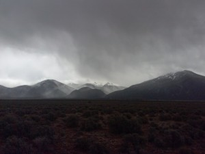 Taos Mountain April Storm