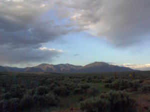 Taos Mt. from Tune Drive